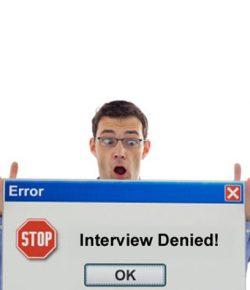 40 de motive pentru care nu esti chemat la interviu
